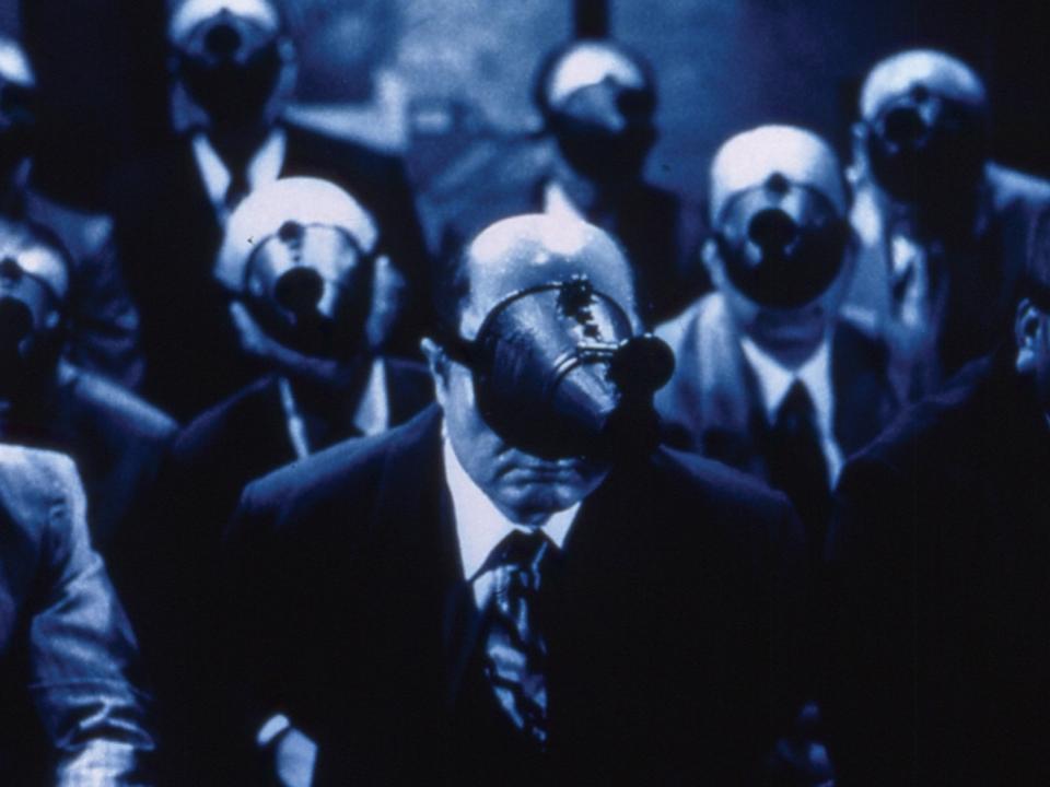 A-Snake-of-June---Yuji-Kotari,-masks
