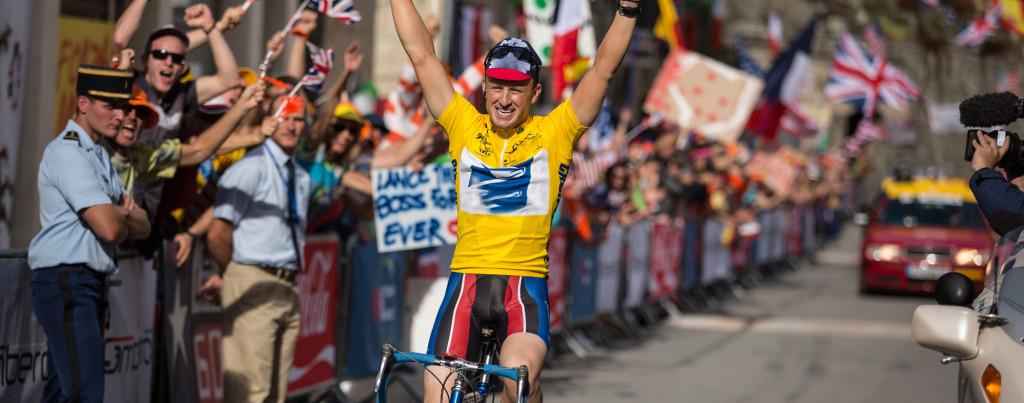 The-Program---Lance-Armstrong,-Ben-Foster,-bike