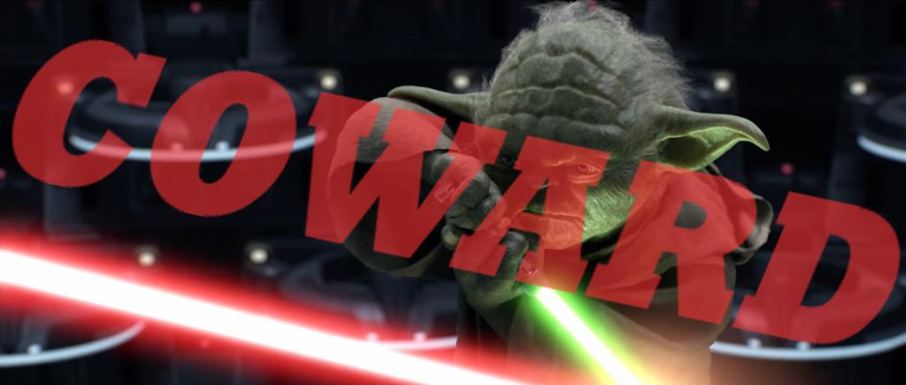 Yoda---Coward