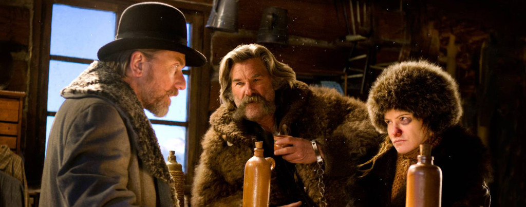 The-Hateful-Eight---Kurt-Russell,-Jennifer-Jason-Leigh,-Tim-Roth