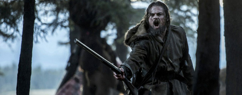 The-Revenant---Leonardo-DiCaprio,-gun