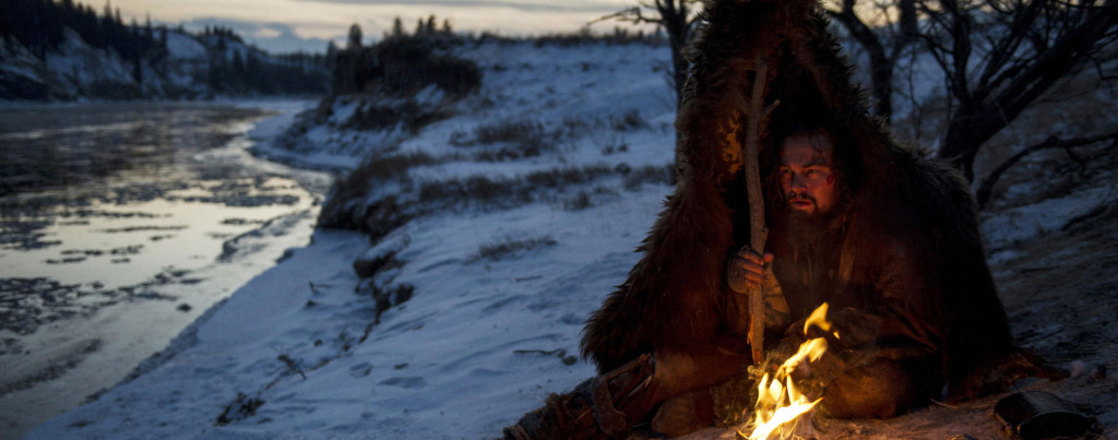 The-Revenant---Leonardo-Dicaprio---camp-fire