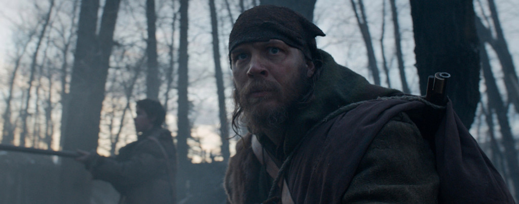 The-Revenant---Tom-Hardy,-Will-Poulter