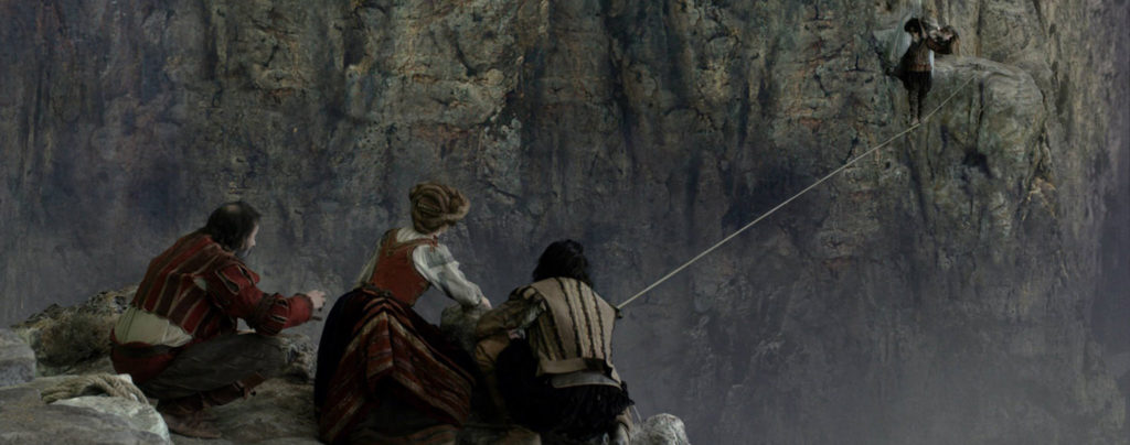 Tale-of-Tales---Bebe-Cave,-tightrope