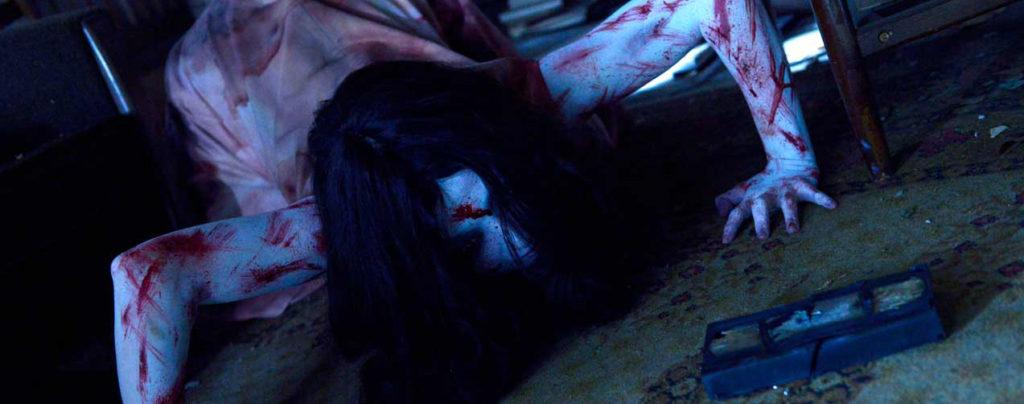 Sadako-vs-Kayako---Kayako,-videotape