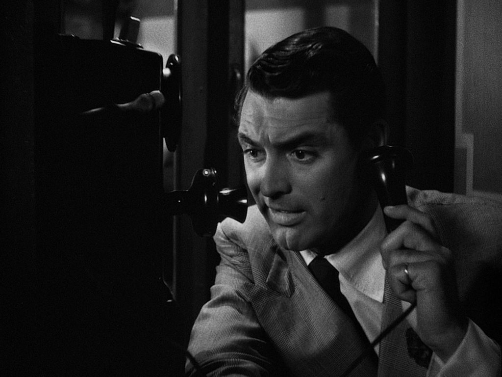 His-Girl-Friday---Cary-Grant,-phone
